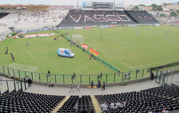São Januário vazio jogo Vasco x Quissamã (Foto: Gustavo Rotstein)