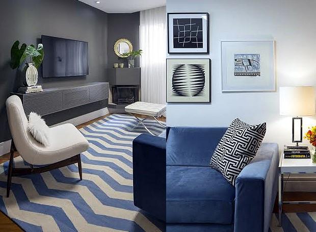 Lareira Para Sala Pequena ~ 10 ideias do arquiteto para decoração de uma sala pequena  Casa e