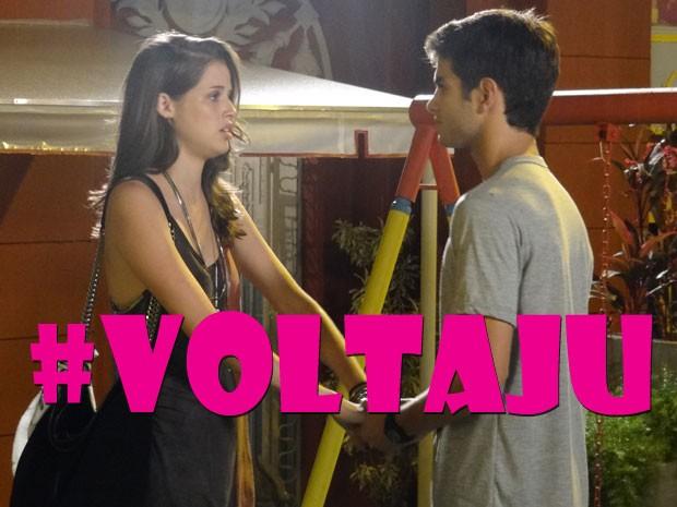 Quem apoio #VoltaJu??? Todo mundo, né? (Foto: Malhação / Tv Globo)