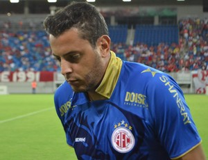 Fernando Henrique - goleiro do América-RN (Foto: Jocaff Souza)