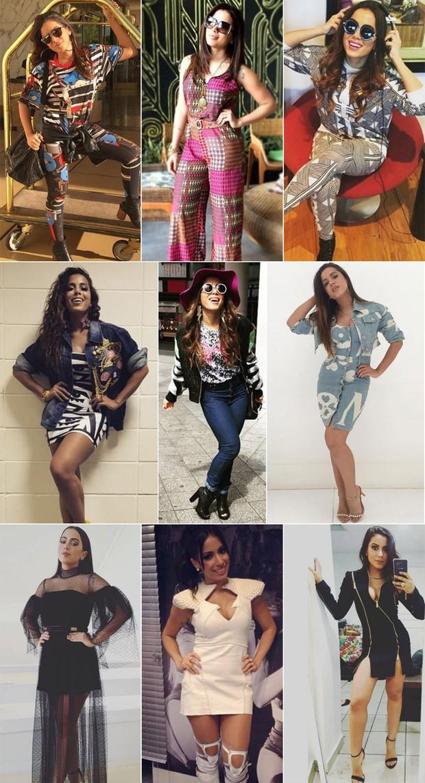 """Anitta  Na minha opinião, ser cafona é fazer ou vestir algo porque todo mundo faz ou vestir alguma coisa porque esperam isso de você"""" (Foto: Divulgação)"""
