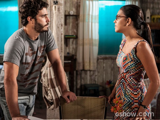 William afirma que vai esperar a amada (Foto: Inácio Moraes/TV Globo)