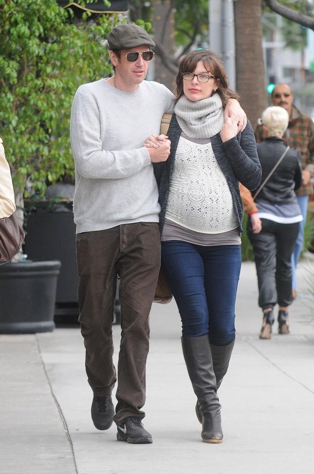 Milla Jovovich e Paul Anderson (Foto: Grosby)
