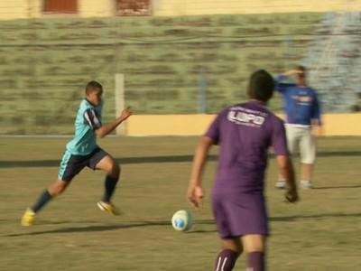 Guarani jogo-treino (Foto: Reprodução / EPTV)