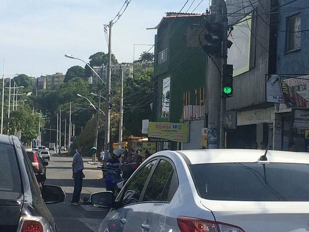 Acidente Ogunjá, Salvador. Bahia (Foto: Valma Silva / G1)