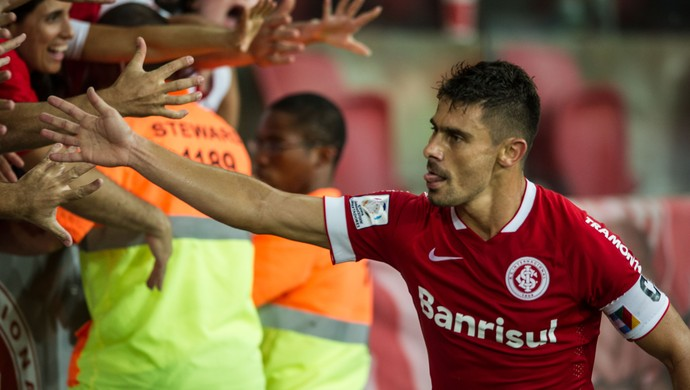 Internacional X Emelec Alex Inter Beira-Rio Inter Libertadores (Foto: Alexandre Lops/Internacional)