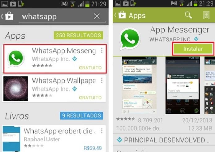 Toque sobre o app desejado e espere carregar (Reprodução/Taysa Coelho)