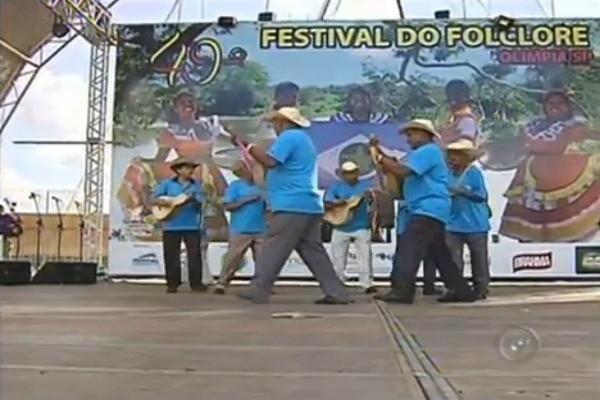 Festival do Folclore de Olímpia homenageia a cultura mato-grossense em sua 49ª edição (Foto: Reprodução / TV TEM)