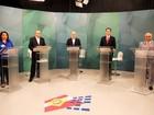 Candidatos a governador de SC  participam de debate em Florianópolis
