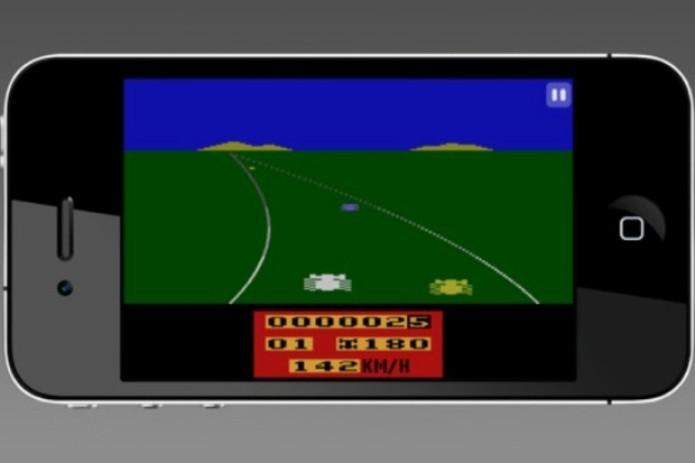 Enduro: jogo de corrida de carros do Atari agora no seu celular (Foto: Divulgação)
