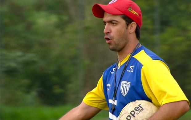 João Burse, técnico do Mogi Mirim na Copa São Paulo (Foto: Reprodução / EPTV)