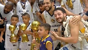 Depois de 20 anos, Mogi Basquete conquista o Campeonato Paulista