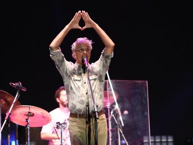 Caetano Veloso no Festival de Verão 2015 (Foto: Raphael Dias/Gshow)