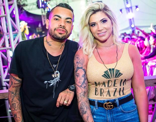 Dani Souza e Dentinho (Foto: Adriel Douglas)