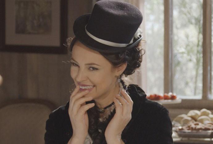 Melissa é linda naturalmente (Foto: Gshow / TV Globo)