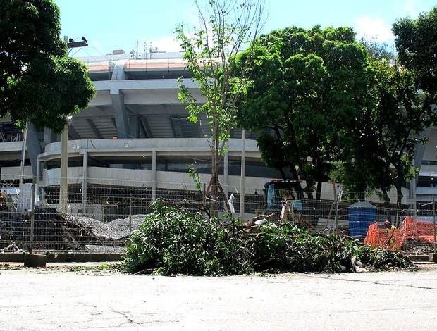entorno estádio maracanã (Foto: Leandro Canônico)