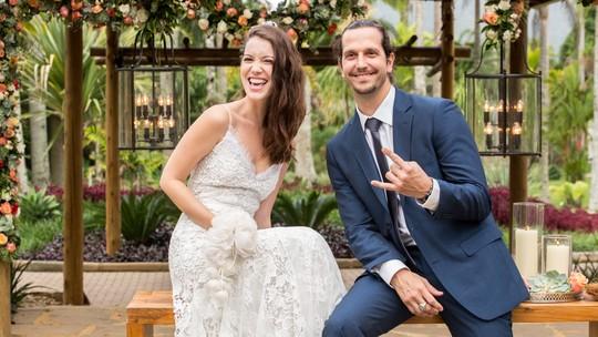 Veja o que rolou nos bastidores do casamento de Gui e Júlia em 'Rock Story'!