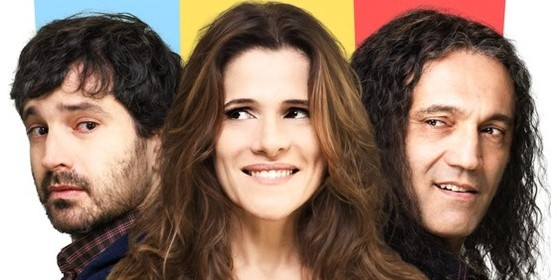 Personagem de Caco Ciocler contrata um amante de aluguel (Domingos Montagner) para seduzir a própria mulher (Ingrid Guimarães) (Foto: Reprodução)