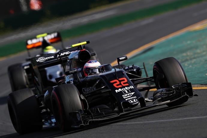 Jenson Button McLaren 2016 GP da Austráli (Foto: Getty Images)
