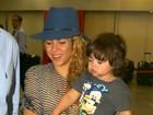Shakira manda mensagem: 'Oi Brasil, já estou aqui! Estava com saudades'