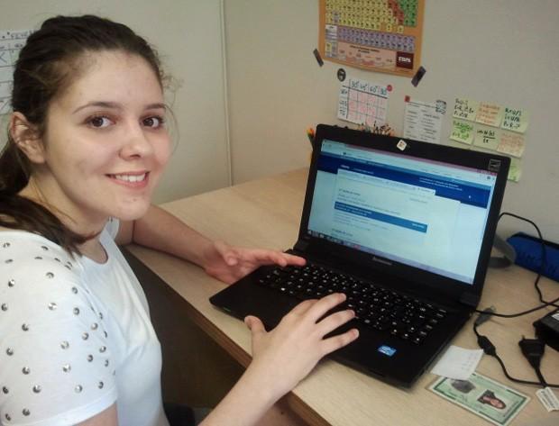 Tayrine Castori, de 17 anos, foi aprovada em direito no Mackenzie pelo Prouni (Foto: Arquivo pessoal/Tayrine Castori)