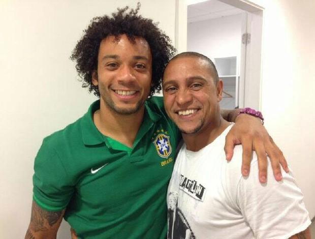 Reprodução twitter Marcelo Roberto carlos (Foto: Reprodução / Twitter)