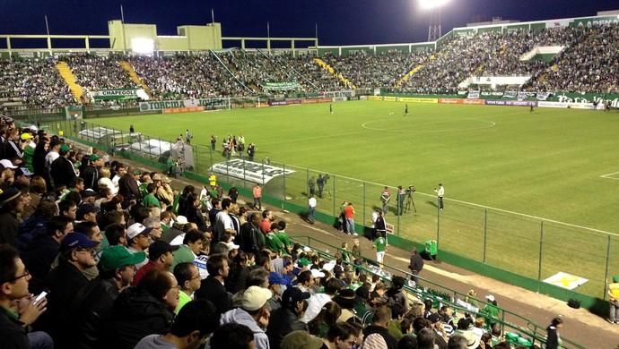 Arena Condá Chapecoense x Corinthians (Foto: Eduardo Cristófoli/RBS TV)