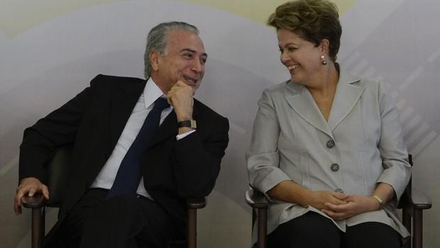 Dilma e Michel Temer (Foto: Agência Brasil)