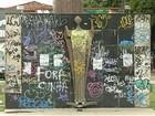 Abandonado, mercado de São Brás é alvo de depredações e insegurança