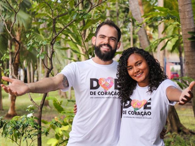 Alunos e colaboradores da Unifor se engajam no apoio à doação de órgãos e tecidos durante todo o mês de setembro (Foto: Bruno Bressam/Unifor)