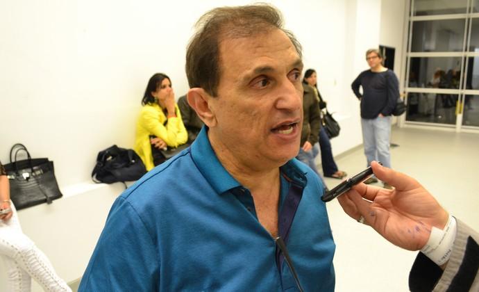 presidente Marco Chedid Bragantino (Foto: Filipe Rodrigues)