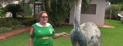 Torcedora do Luverdense está confiante na vitória contra o Corinthians
