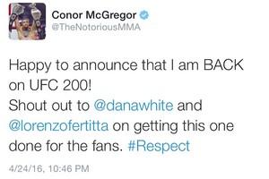 Conor McGregor; Instagram (Foto: Reprodução/ Instagram)