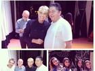 Xuxa faz participação e se emociona em musical dedicado a Chacrinha