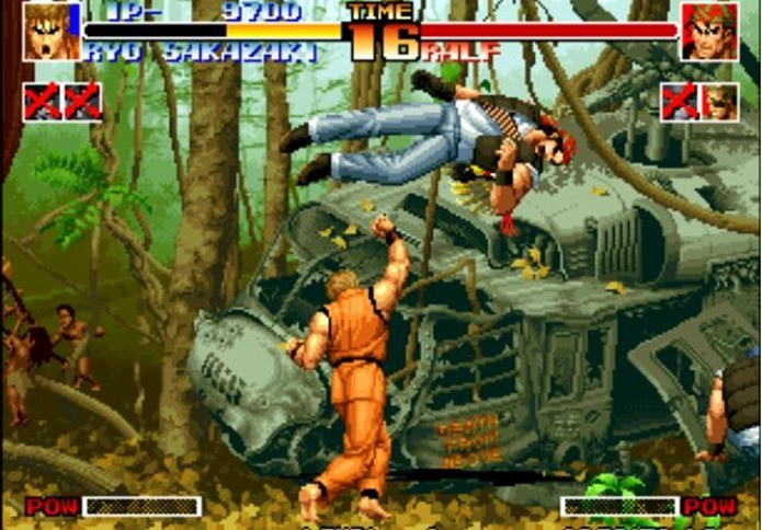 KOF 94 era inovador para a época (Foto: Reprodução / Gamers.vg)