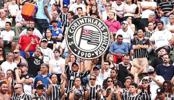 Torcida do Corinthians se animou com o último resultado da equipe (Foto: divulgação / reprodução)
