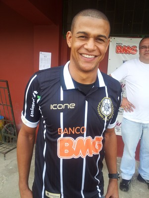 Jancarlos, lateral-direito do Rio Branco-ES (Foto: Richard Pinheiro)