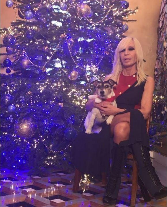 Donatella Versace (Foto: Reprodução)