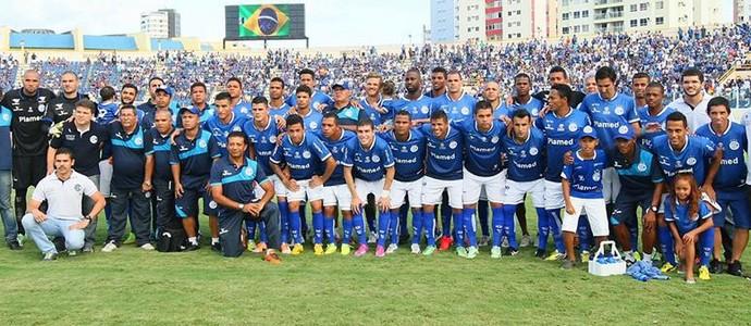 Confiança, campeão sergipano 2015 (Foto: Jorge Henrique)