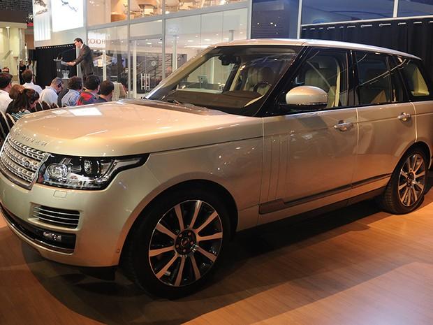23 de outubro - Range Rover Vogue (Foto: Raul Zito/G1)