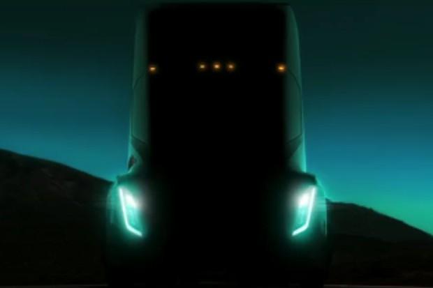 Tesla revela primeira imagem de futuro caminhão elétrico (Foto: Reprodução)