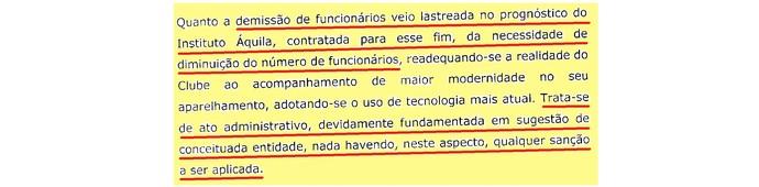 (editado) Parecer Comitê Ética São Paulo Página 15 (Foto: Arte: GloboEsporte.com)