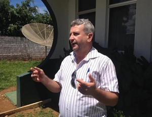 José Natal, diretor de futebol do Vilhena (Foto: Jonatas Boni/G1)