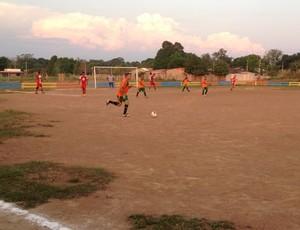 Futebol amador em Guajará-Mirim (Foto: Júnior Freitas)