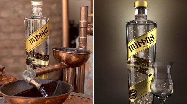 O nome da bebida foi inspirado pelo rei mitológico que transformava tudo em ouro com seu toque (Foto: Divulgação)