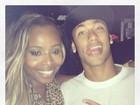 Roberta Rodrigues encontra Neymar na noite e brinca com Marquezine