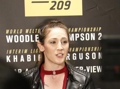 Megan Anderson; Invicta; UFC 209 (Foto: Evelyn Rodrigues)