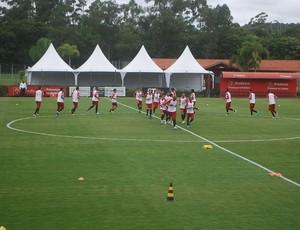 treino São Paulo (Foto: Marcos Guerra / Globoesporte.com)