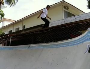 Pista Bob Burnquist Rio de Janeiro (Foto: Reprodução/ SporTV)