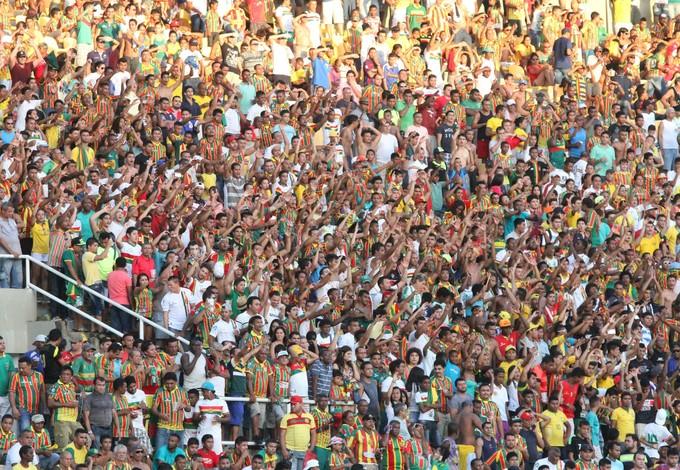 Sampaio conta com apoio da torcida para duelo contrao ABC deste sábado (Foto: De Jesus/O Estado)